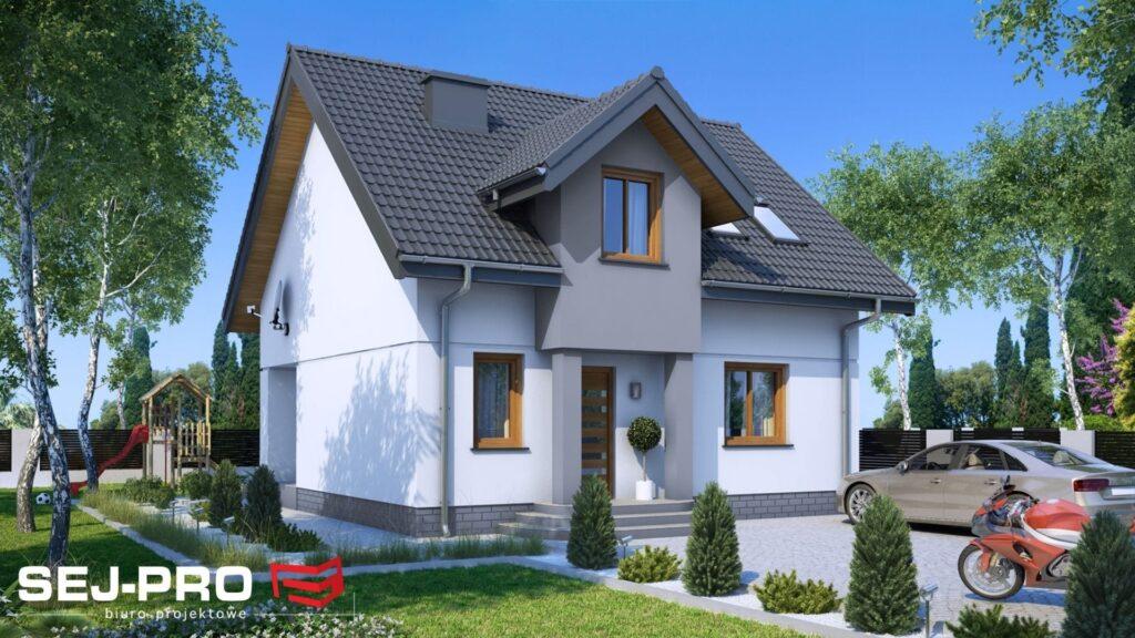 Projekt domu SEJ-PRO 001 ENERGO