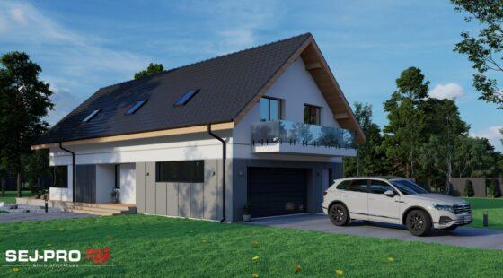 Projekt domu SEJ-PRO 050 ENERGO