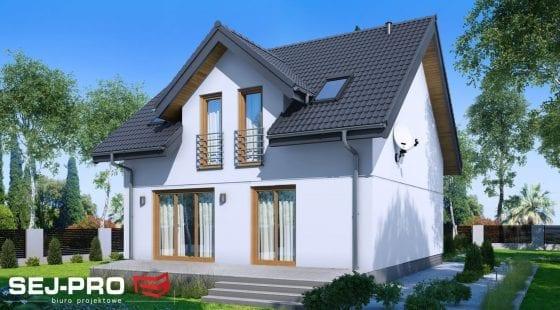 Projekt domu SEJ-PRO 001/1 ENERGO