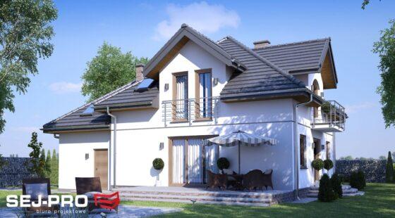Projekt domu SEJ-PRO 002 ENERGO