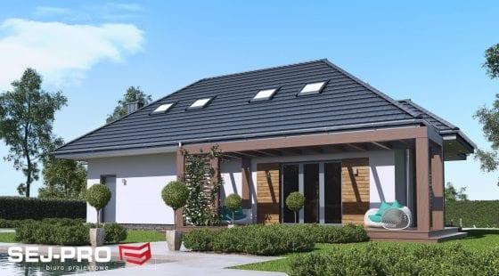 Projekt domu SEJ-PRO 005 ENERGO
