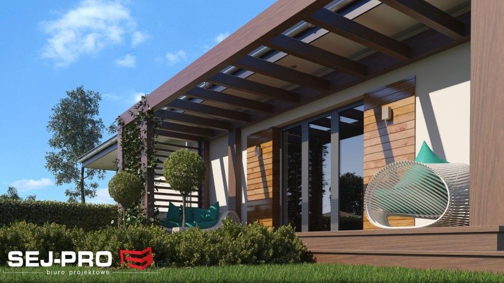 Projekt domu SEJ-PRO 005/1 G ENERGO