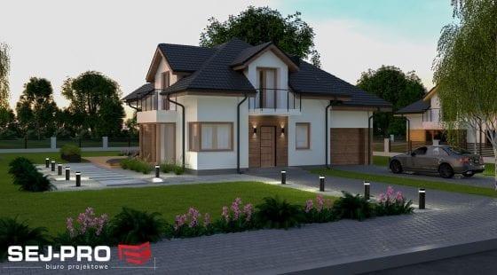 Projekt domu SEJ-PRO 008 ENERGO