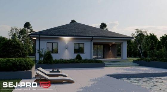 Projekt domu SEJ-PRO 009 ENERGO