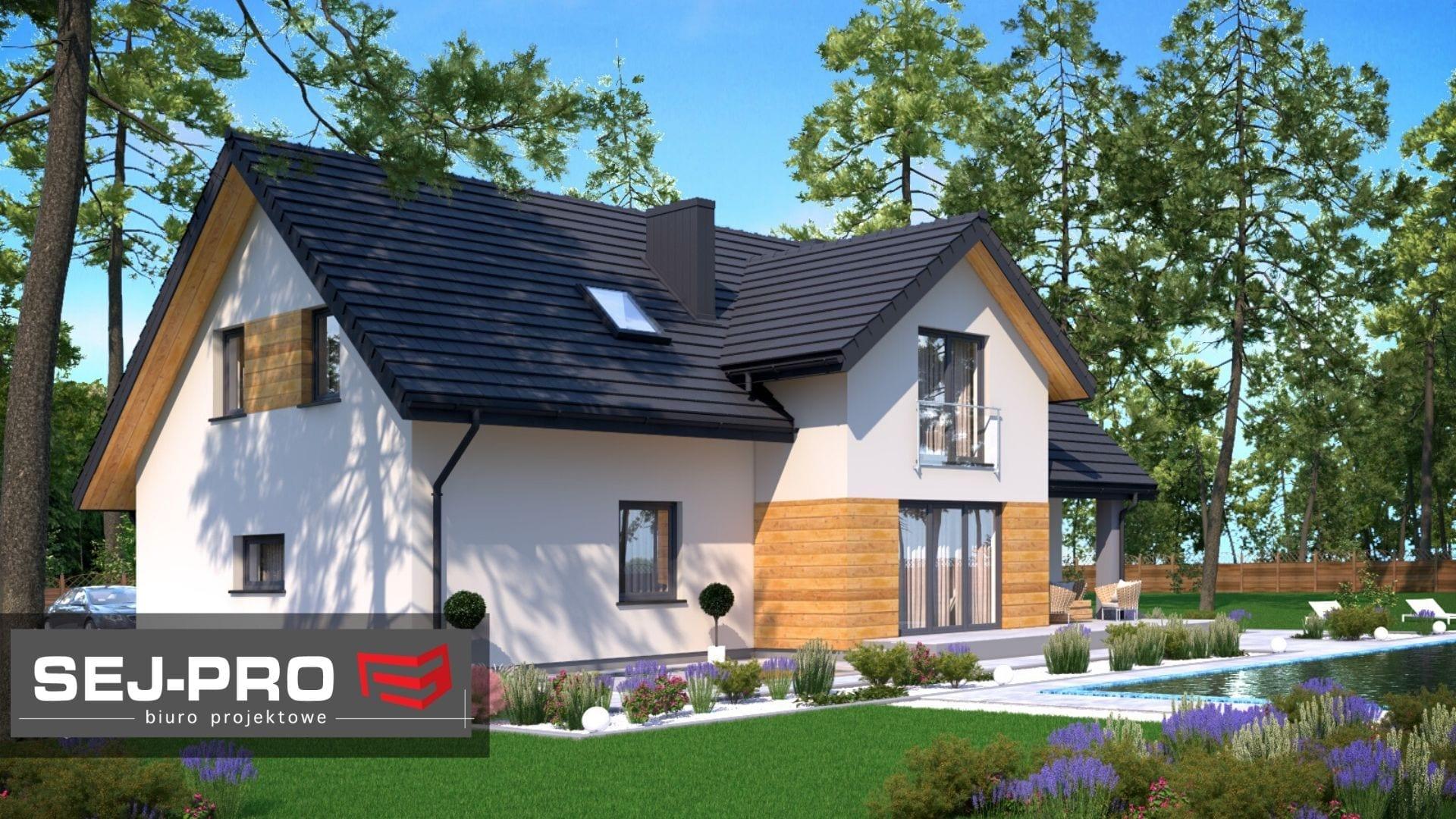 Projekt domu SEJ-PRO 025 ENERGO