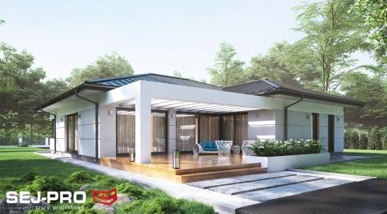 Projekt domu SEJ-PRO 027 ENERGO