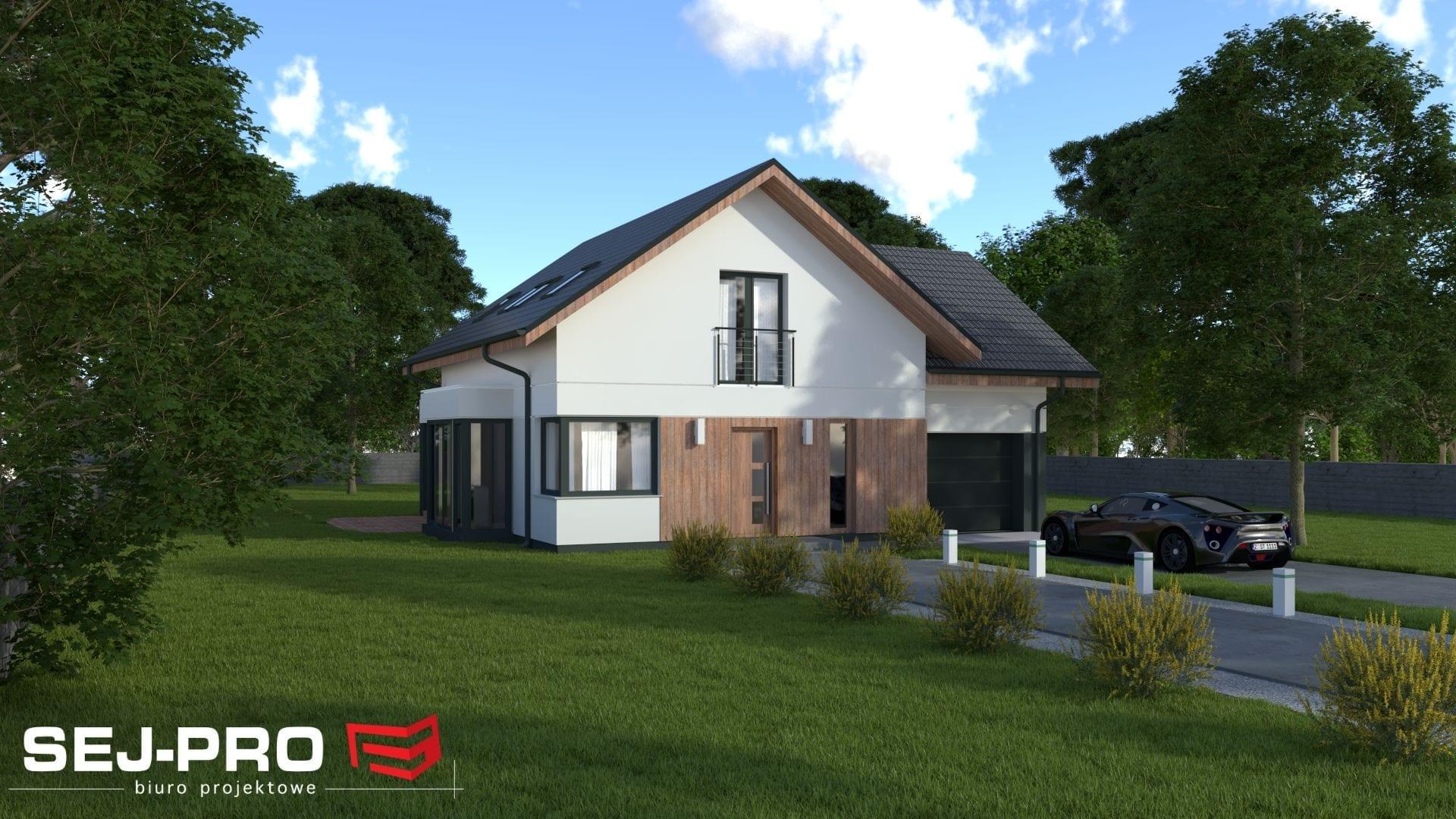 Projekt domu SEJ-PRO 046 ENERGO