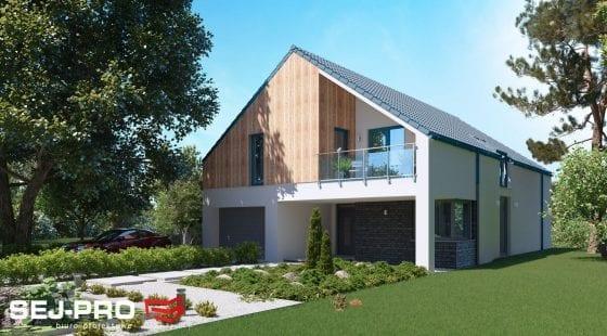 Projekt domu SEJ-PRO 012 ENERGO