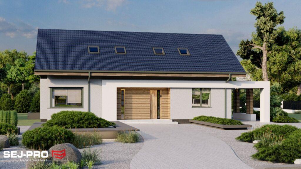 Projekt domu SEJ-PRO 043 ENERGO