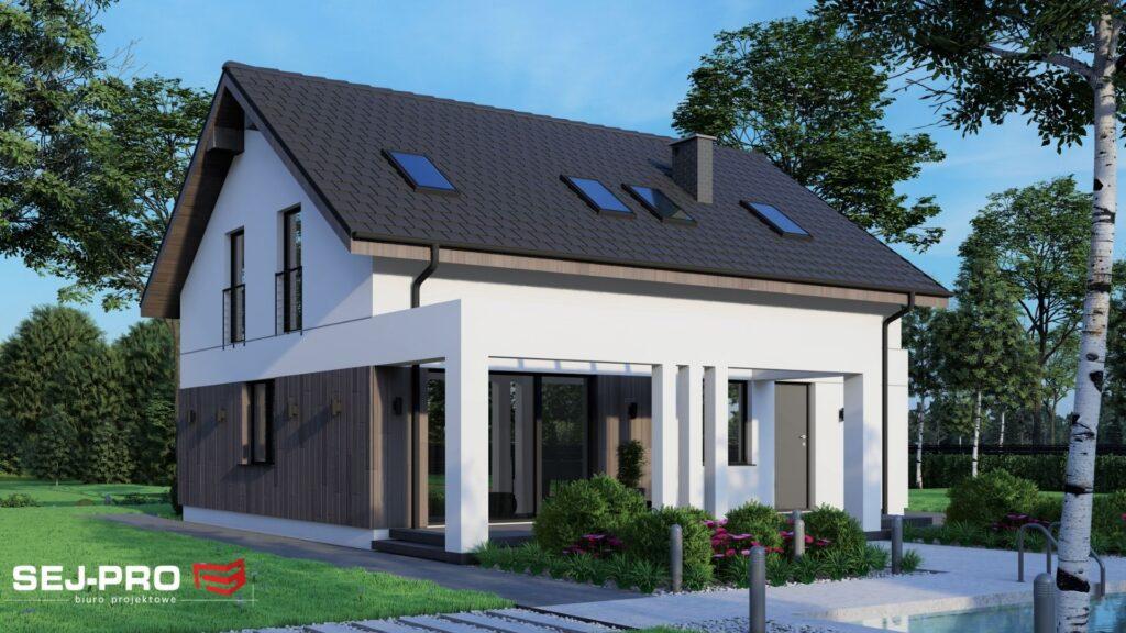 Projekt domu SEJ-PRO 035 ENERGO