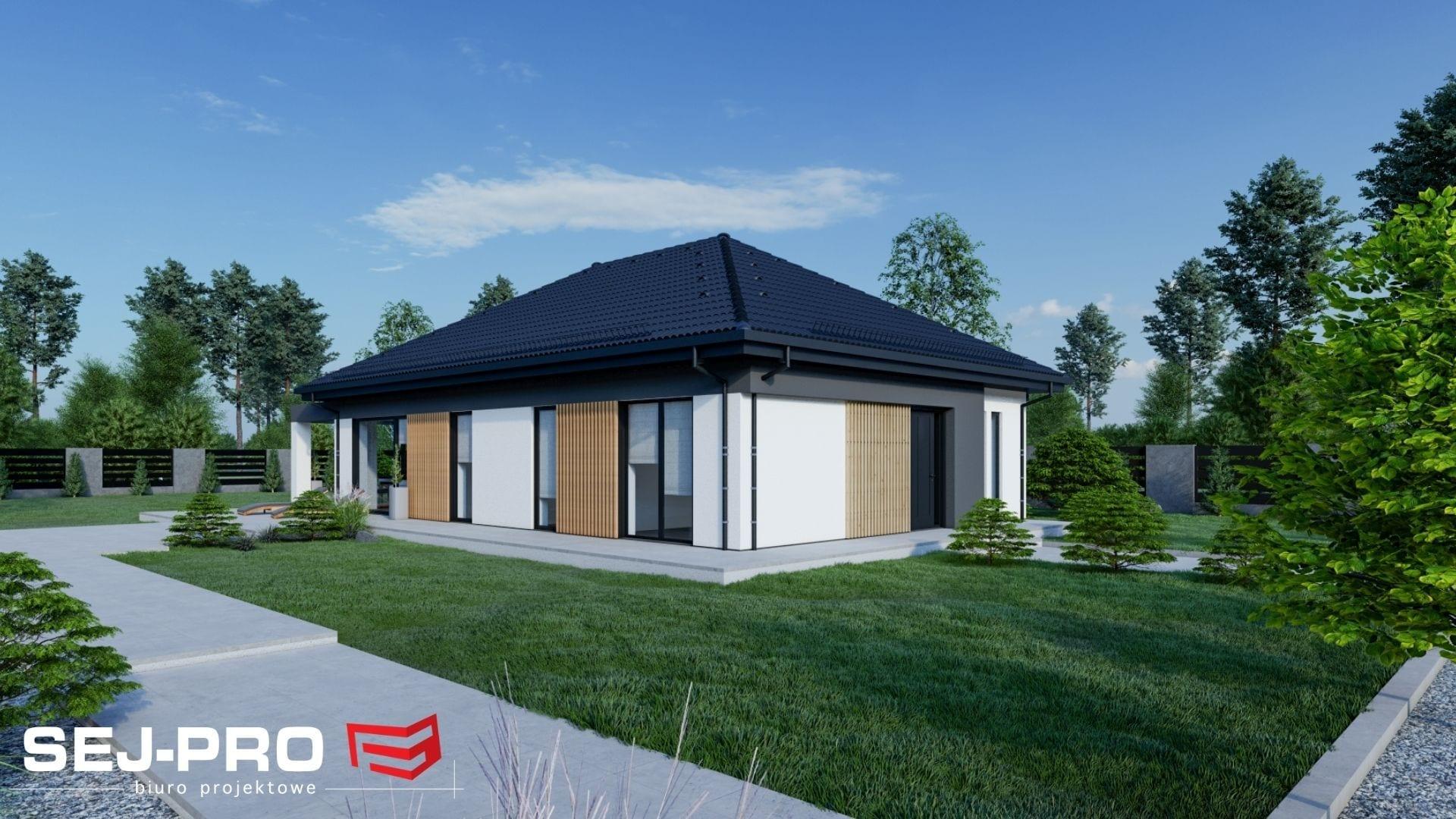 Projekt domu SEJ-PRO 051 ENERGO