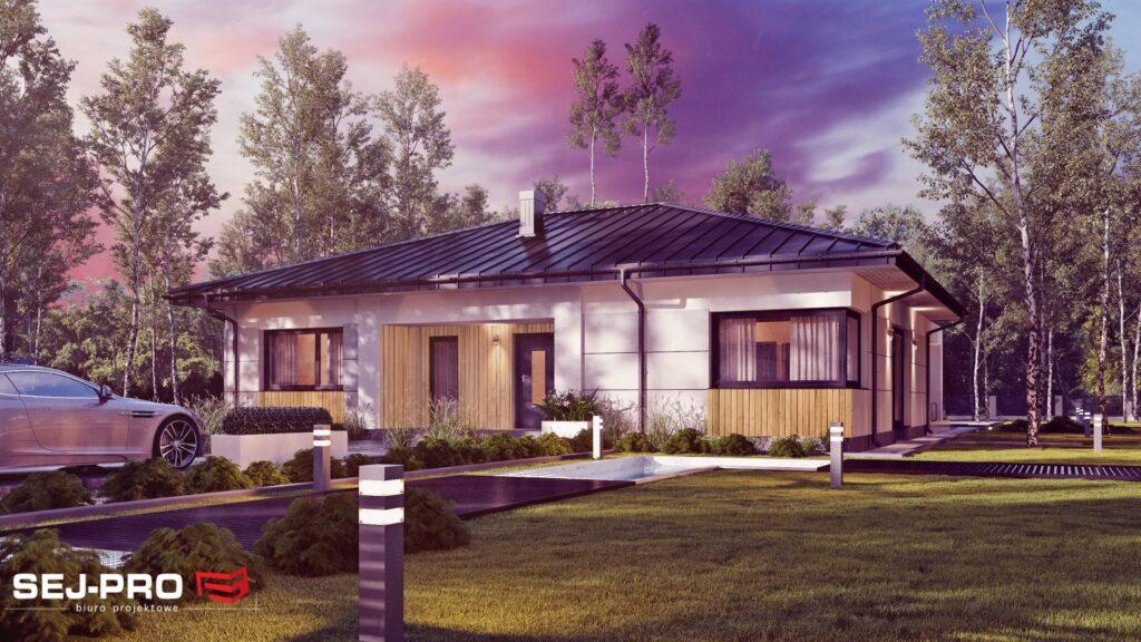 Projekt domu SEJ-PRO 049 ENERGO