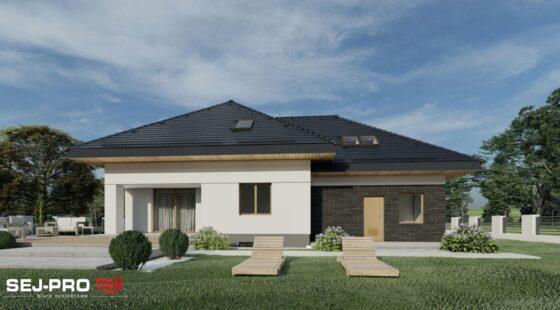 Projekt domu SEJ-PRO 024 ENERGO
