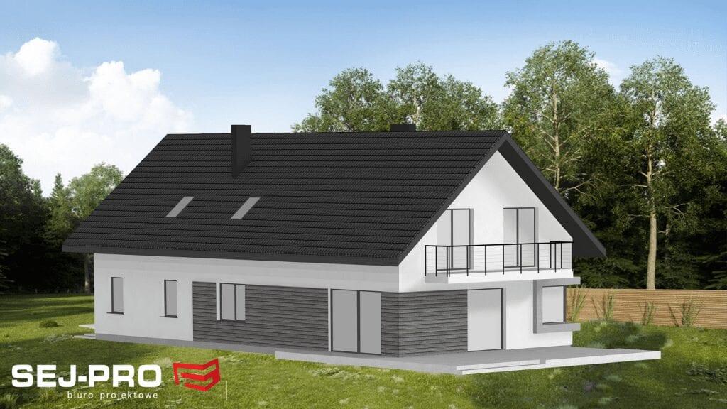 Projekt domu SEJ-PRO 018 ENERGO