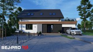 Projekt domu SEJ-PRO 003 ENERGO
