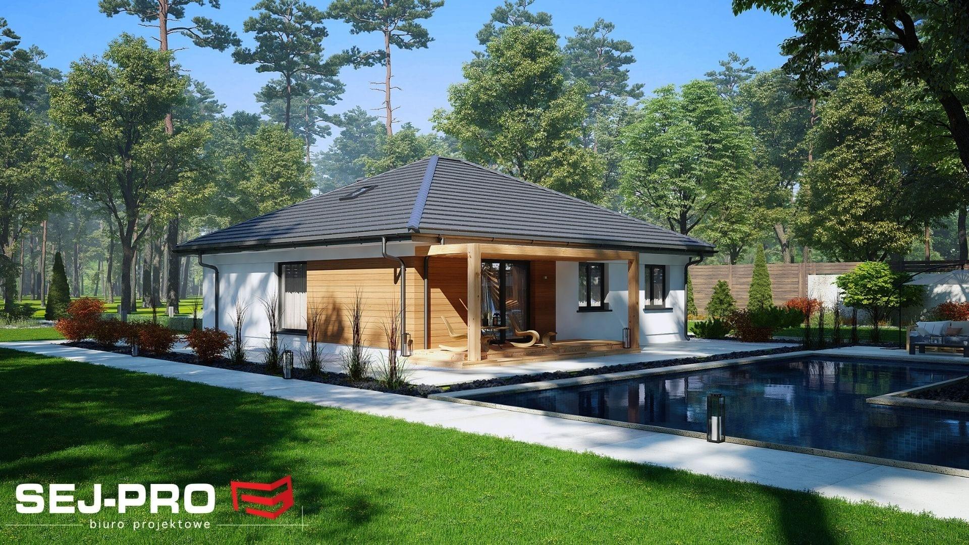 Projekt domu SEJ-PRO 015/2 ENERGO