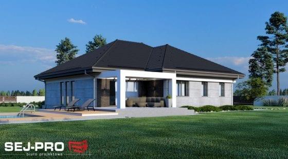 Projekt domu SEJ-PRO 060 ENERGO