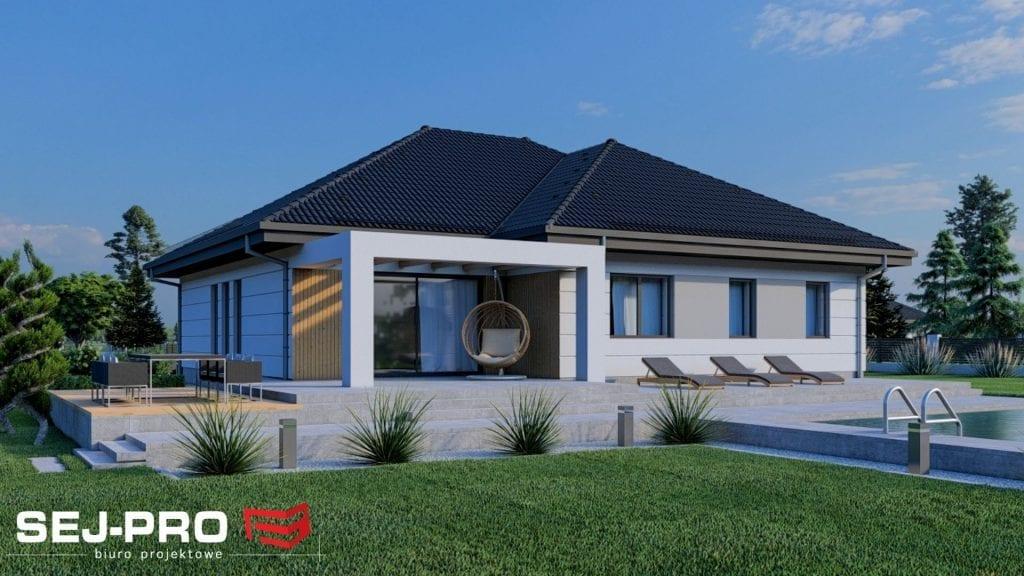 Projekt domu SEJ-PRO 060/1 ENERGO