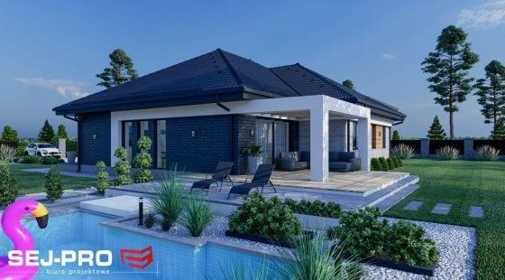 Projekt domu SEJ-PRO 060/2 ENERGO