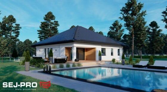 Projekt domu SEJ-PRO 071/1 ENERGO