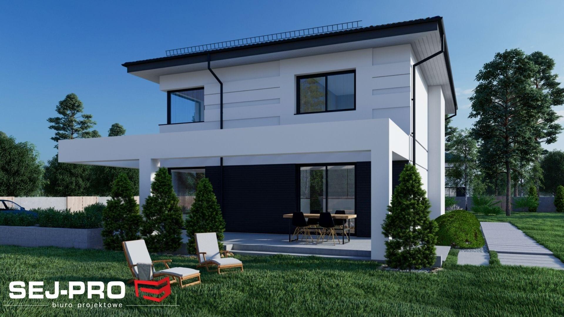 Projekt domu SEJ-PRO 032 ENERGO