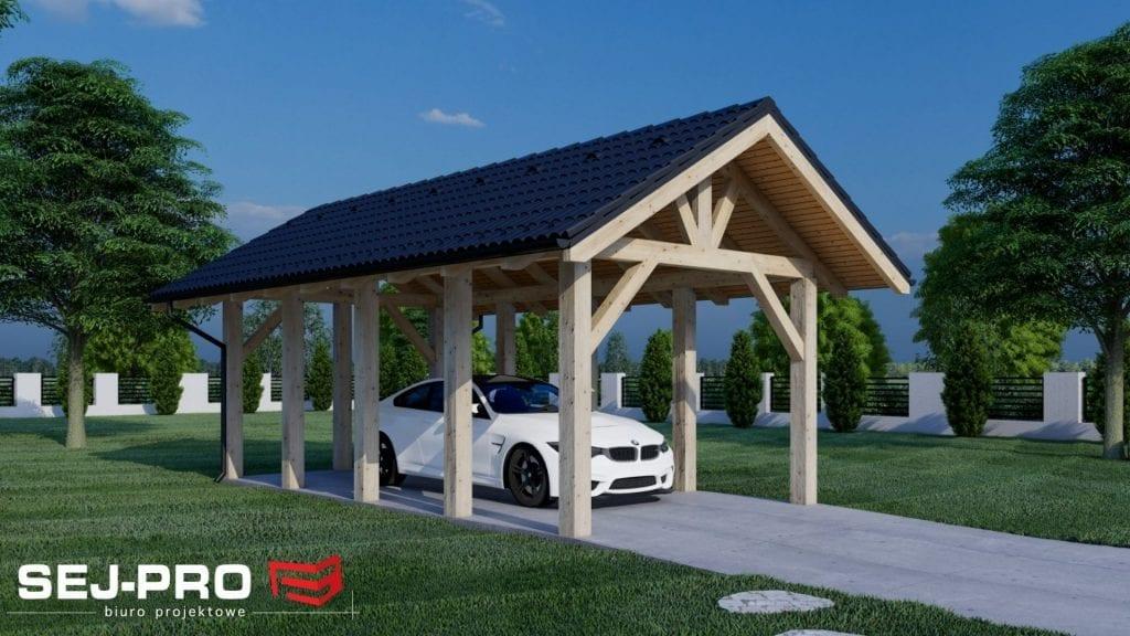 Inny projekt Garaż SEJ-PRO G003