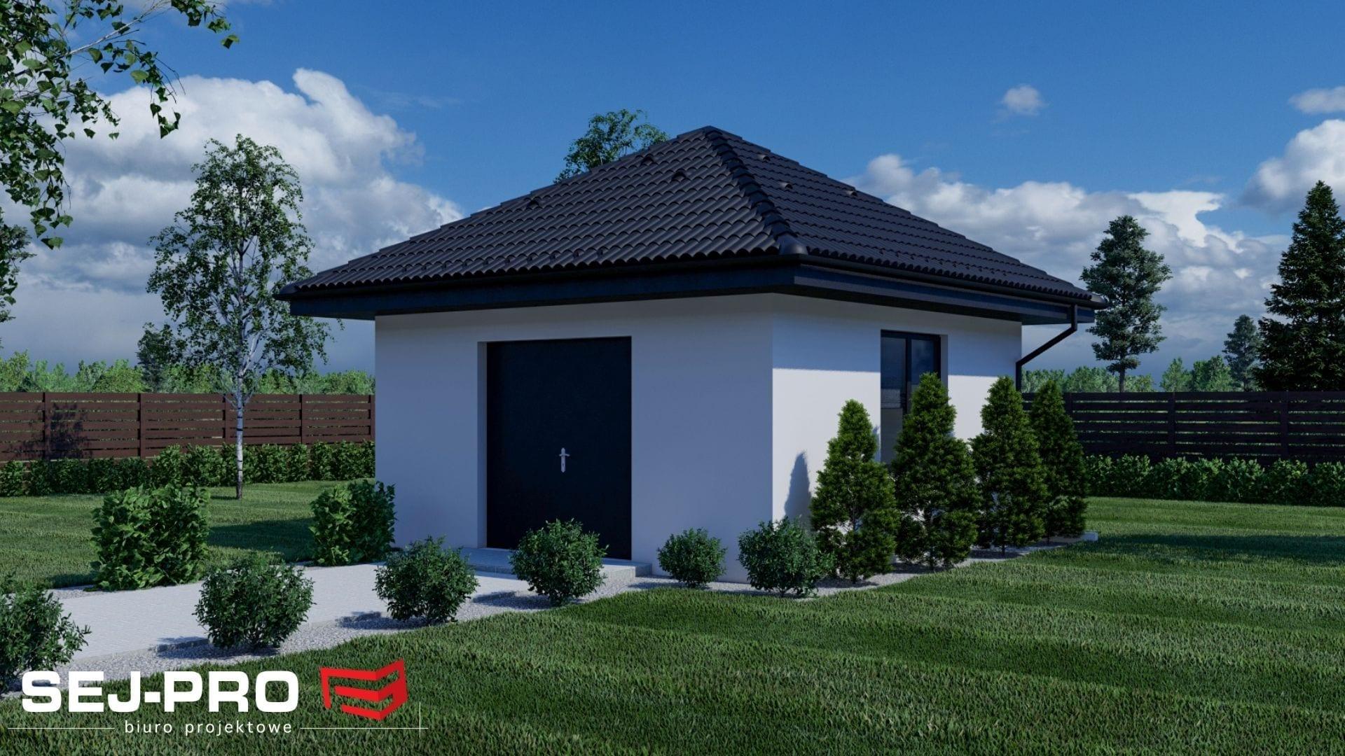Inny projekt Budynek gospodarczy SEJ-PRO B001