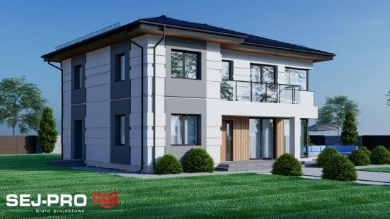Projekt domu SEJ-PRO 032/1 ENERGO