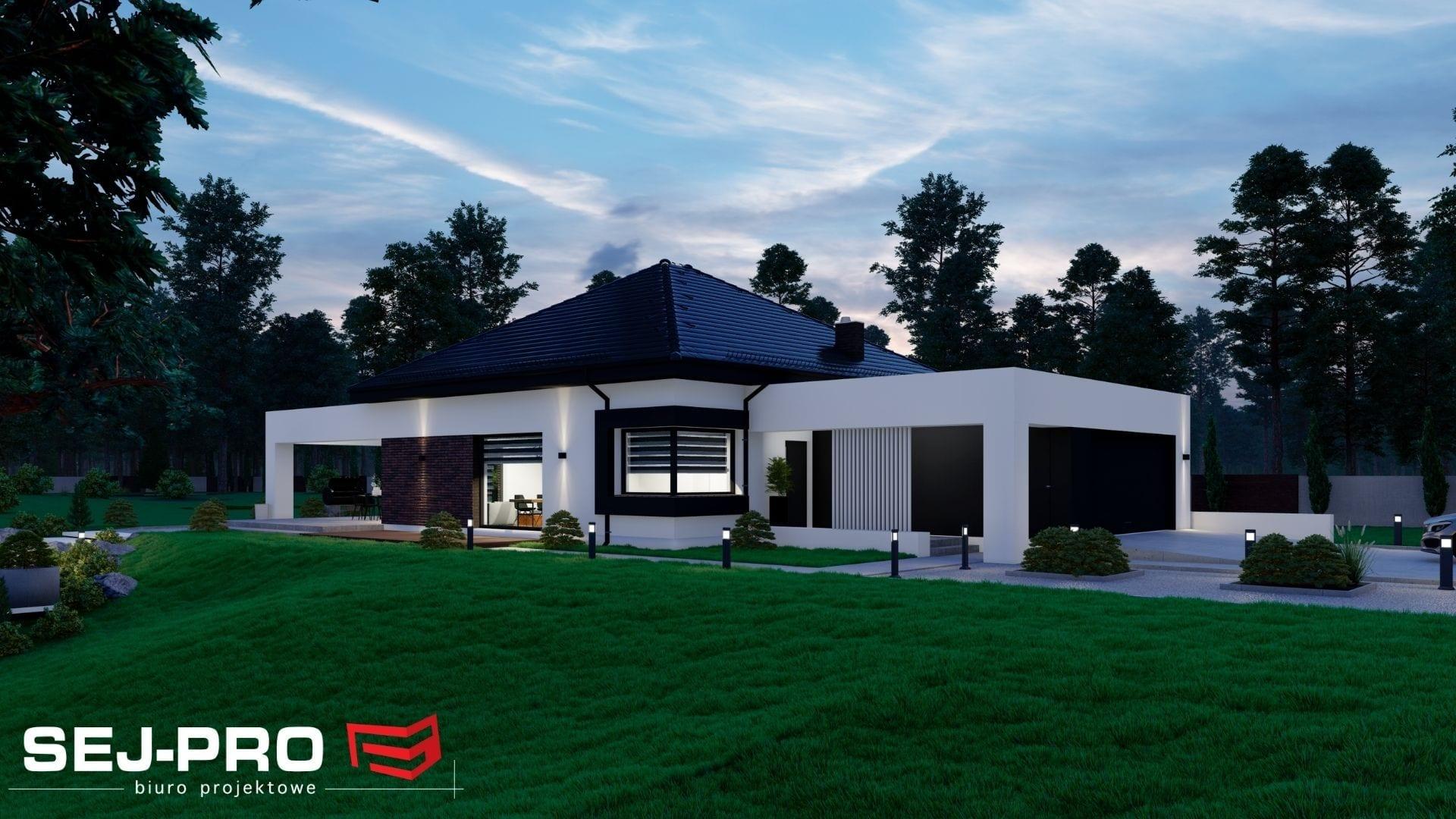 Projekt domu SEJ-PRO 076 ENERGO