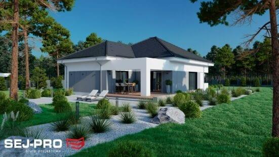Projekt domu SEJ-PRO 085 ENERGO
