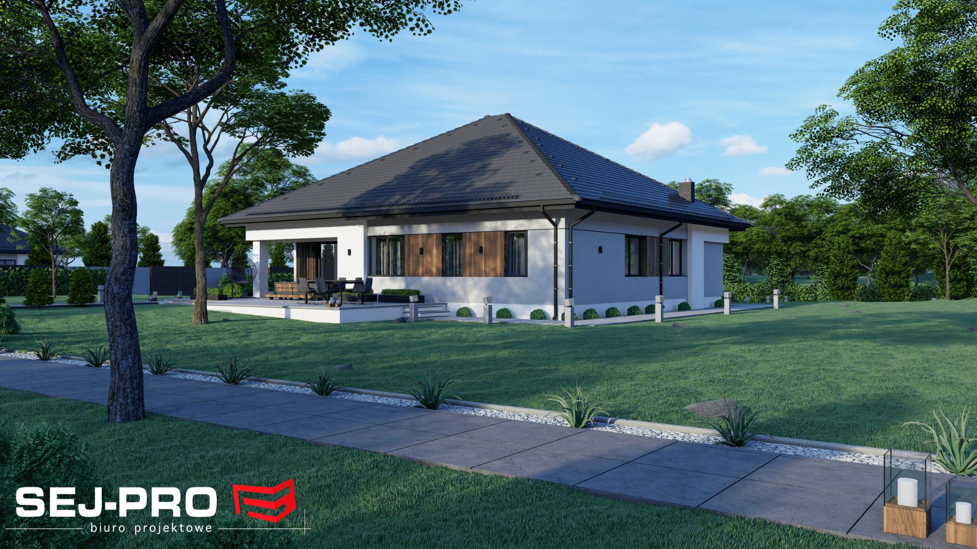 Projekt domu SEJ-PRO 006 ENERGO