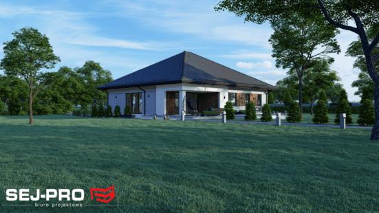 Projekt domu SEJ-PRO 006/1 ENERGO
