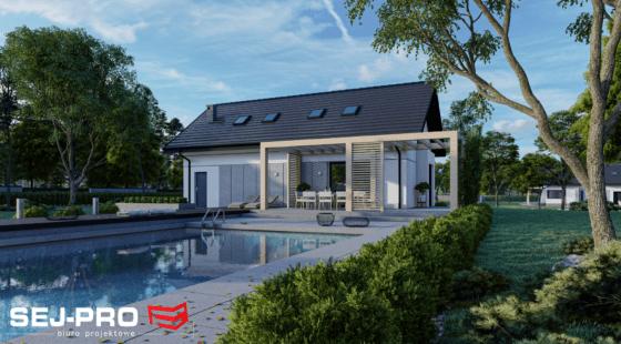 Projekt domu SEJ-PRO 044/1 ENERGO