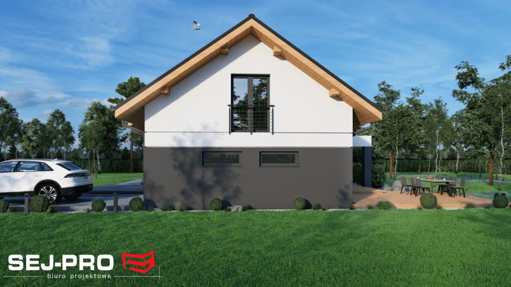 Projekt domu SEJ-PRO 047 ENERGO