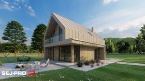 Projekt domu SEJ-PRO 072 ENERGO