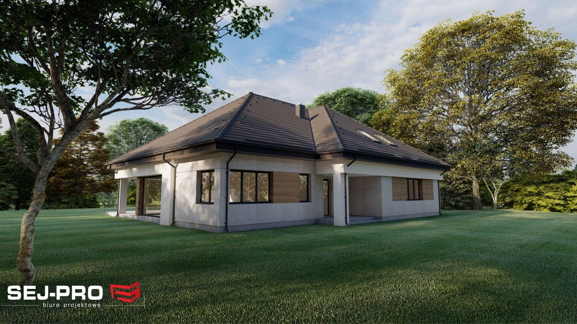 Projekt domu SEJ-PRO 086 ENERGO