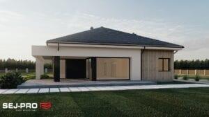 Projekt domu SEJ-PRO 087 ENERGO