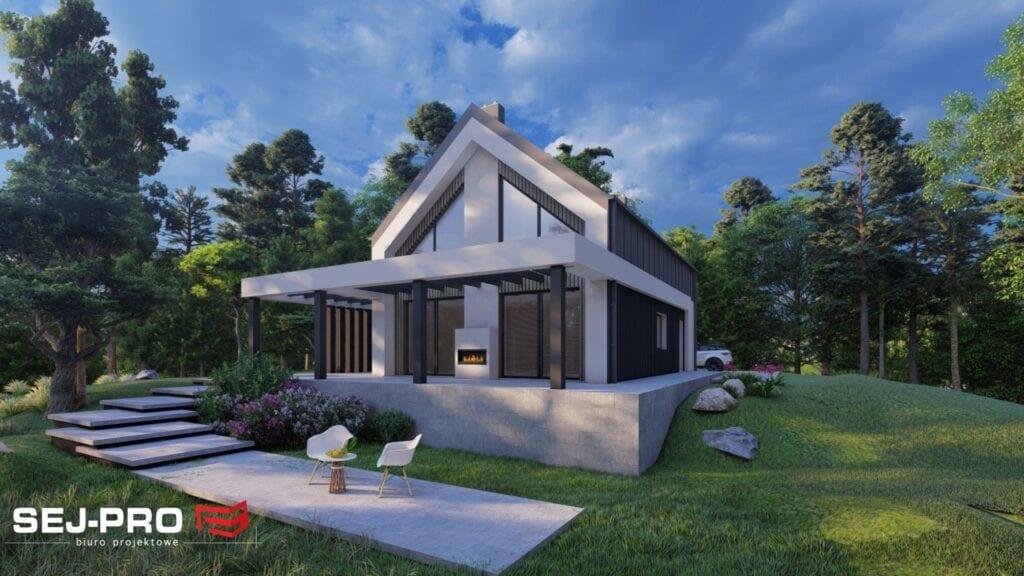 Projekt domu SEJ-PRO 074 ENERGO